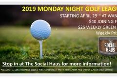 2019 Golf Season Starts soon.