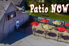 Patio Now Open!